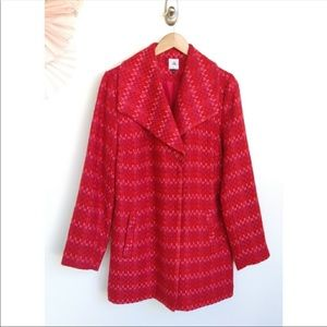 Cabi Sloan Tweed Coat Large